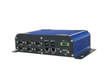 Aluminium Alloy Industrial Fanless Embedded PC 247m x 132.2m x 61.4mm