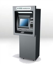 Self Service Through The Wall ATM Machines For Cash / Money Depositing And Dispensing