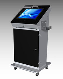 Industrial Multi Function Kiosk Customized Accurate Touch Screen Simple Operation