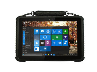 Multipurpose Fanless Industrial Panel PC , IP65 10 Inch Rugged Tablet PC